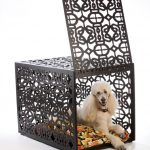 amazing-cool-classic-adorable-designer-dog-crate-with-nice-iron-brown-color-made-concept-with-opening-up-door-design