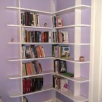 attractive-nice-elegant-small-compact-corner-bookshelf-with-nice-white-wooden-modern-concept-for-beautiful-room-decoration