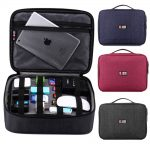 business bag with electric cable storage