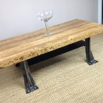 butcher block coffee table dried-root carpet as the carpet a glass wine