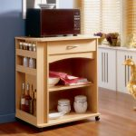 Collective Nice Adorable Mdoern Classic Cool Microwave Cart With Argentina Home Microwave Cart Wooden Made Concept With Small Side Bottle Case