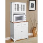 Creative Adorable Nice Simple Pure Fresh Microwave Cart With Hazelwood Home Microwave Cart Wooden Made Concept With Small Cabinet Design