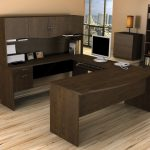 creative-ncie-wonderful-idea-nice-elegant-u-shaped-desk-with-black-small-cabinet-design-with-simple-concept-for-small-home-office-728x612