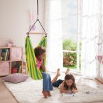 creative-nice-adorable-wonderful-awesome-hanging-chairs-for-kids-with-nice-green-coloring-concept-with-spring-desing-with-soft-cloth-from-argentina-home