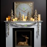 creative-nice-small-simple-adorable-christmas-decoration-for-mantel-with-holiday-mantel-decorating-ideas-in-white-coloring-with-many-candles