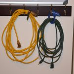 electric  cord and cable wall-organizer