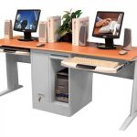 elegant-nice-coolest-famous-two-person-desk-with-modern-design-and-has-middle-storage-with-two-coumputers-set