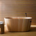 Fantastic Coolest Nice Modern Classic Japanese Soaking Tub Rapsel Bathtub Ofuro With Simpe Small Large Wooden Concept