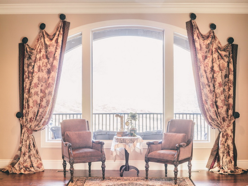 modern window treatments best selections of curtains for arched windows homesfeed 13002