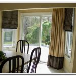 folding window blinds and curain windows treatment  for sliding glass door simple dining furniture