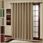 light grey window curtain for sliding glass door with window frames