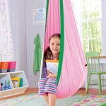 nice-adorable-creative-awesome-simple-contemporary-kids-hanging-chairs-with-pink-coloring-concept-with-soft-cloth-design