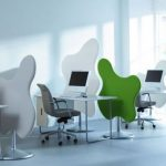 nice-cool-unique-typical-great-office-divider-with-abstract-border-design-in-yellow-green-and-red-for-wonderful-office-room-728x410