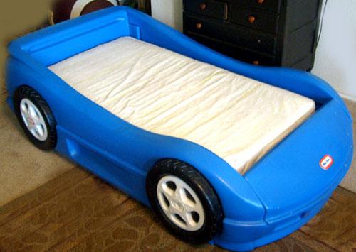Blue Race Car Bed Little Tikes