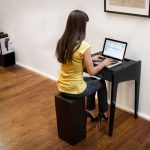 simple-small-adorable-classic-compact-desk-for-small-space-with-wooden-black-coloring-concept-and-has-chair-without-back-concept