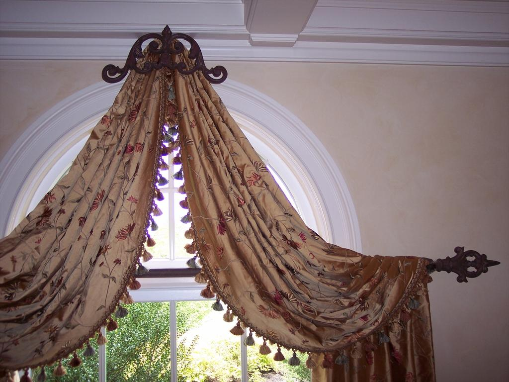 arched top window curtain rod | curtain menzilperde