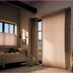 window curtain in brown and honeycomb window treatments for sliding door a settee furniture  a glass vase ornament unique clock