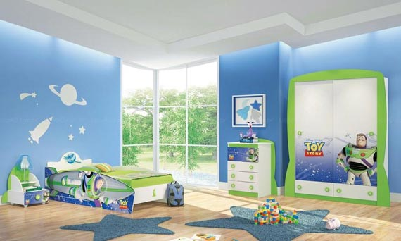 Wonderful Toy Story Bedroom Decoration For Kids Room Homesfeed
