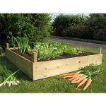 wood for raised beds for planting any kinds of vegetables