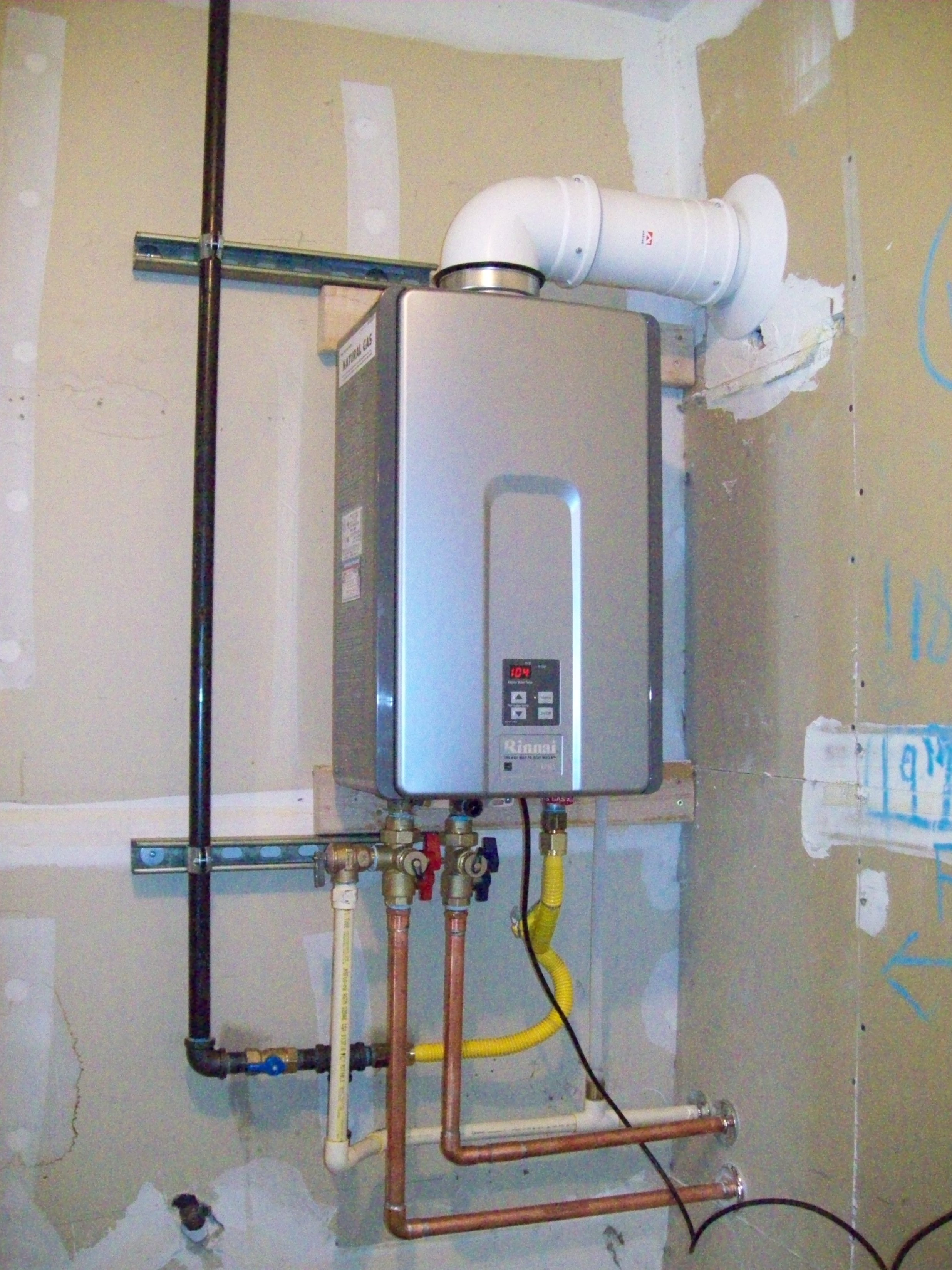 Wiring Diagram Tankless Water Heater : Tankless water heater advantages for your consideration