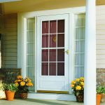 Storm door in Select style by Pella