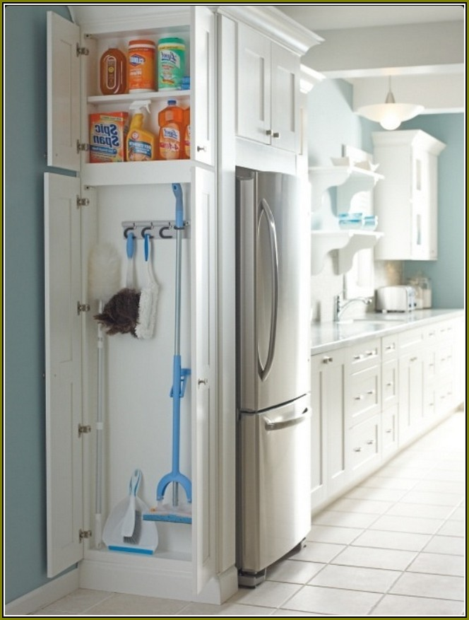 Broom Closets Tips To Keep Cleaners And Cleaning Supplies Well Organized Homesfeed