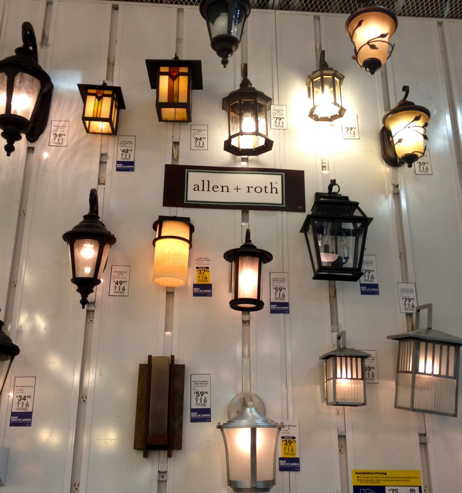Allen And Roth Lighting Products Homesfeed