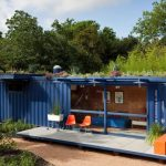 amazing-cool-modern-home-design-blue-color-shipping-crate-homes-with-many-tree-gorgeous-shipping-crate-homes-design-ideas-shipping-container-homes-legal-in-california-shipping-container-homes
