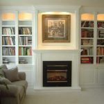 attractive-nice-coolest-great-built-in-cabinet-around-fireplace-with-small-wooden-cabinet-concept-with-glass-door-