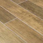 basement porcelain floors with wood like