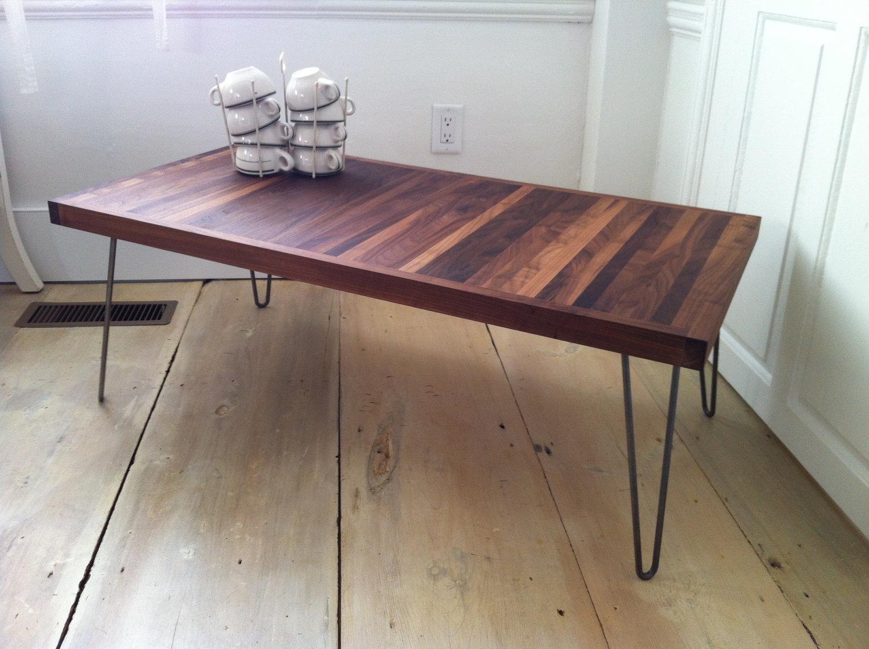 Hairpin Leg Coffee Table Design Considerations - HomesFeed