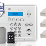 burglar alarm for apartment alarm system with live watch security monitored use wireless system for full protection