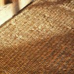 cleaning jute rugs brown from hard natural material