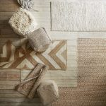 cleaning robicon jute rug in wooden floor
