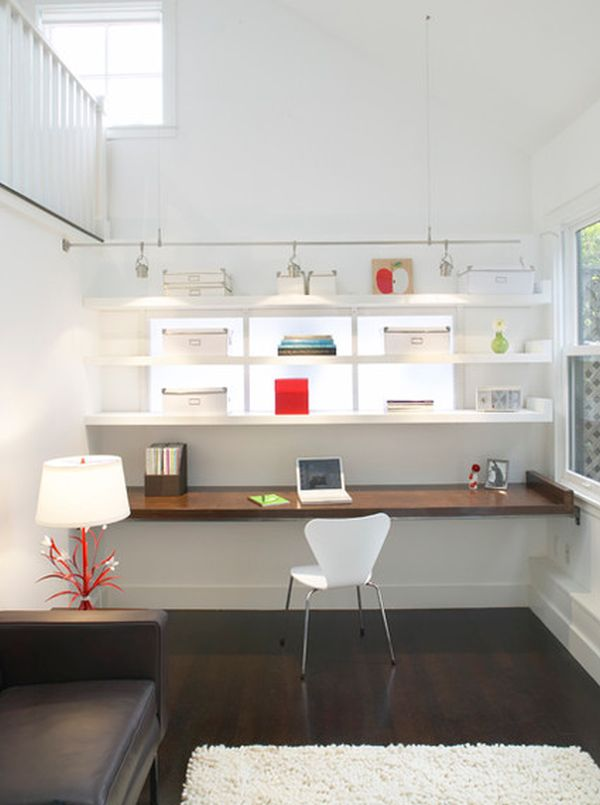 Floating Desk Ikea Best Space Saver For Workspace Homesfeed