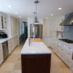 country theme kitchen remodeling orange county with modern long white cabinet and alluring counter table