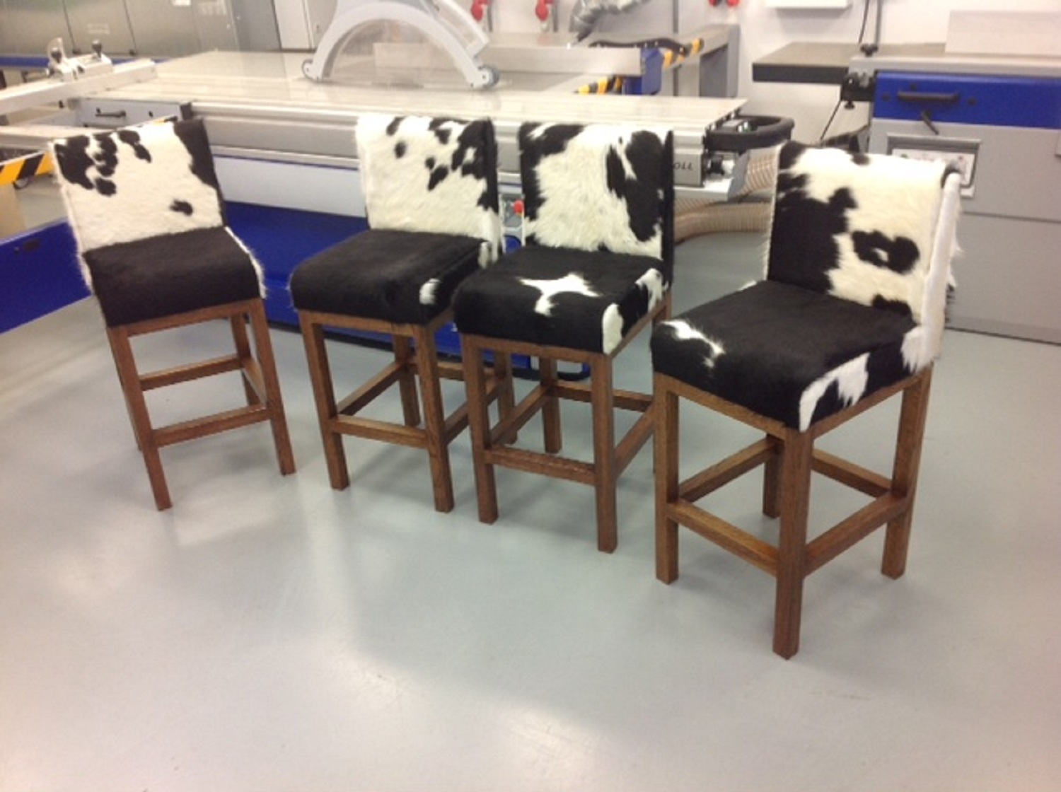 Stupendous Cowhide Dining Chairs Fun And Stylish Choice Of Dining Bralicious Painted Fabric Chair Ideas Braliciousco