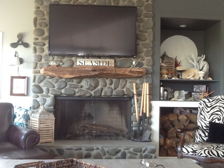 Driftwood Mantle To Add Rustic Accent Homesfeed