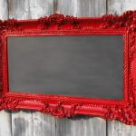 fantastic-nice-cool-great-framed-chalkboard-with-red-decorated-frame-concept-with-simple-mediam-size-for-wall-decoration