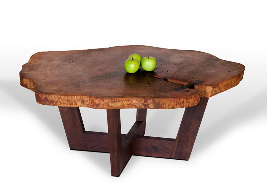 Tree Stump Kitchen Table