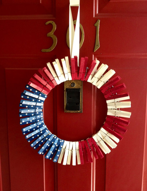 Celebrate Your Freedom Day With Beautiful 4th Of July Wreath Homesfeed