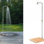 free standing shower head  for outdoor
