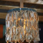 full-drape oyster shells pendant lighting