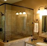 glow vanity sets with down light sconces in aforable bathroom remodel contractor budget with walk in shower