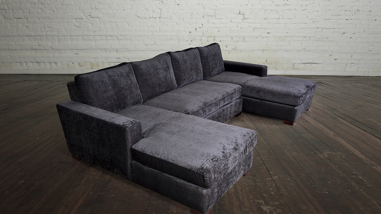 Double Chaise Sectional Sofas Type And Finishing Homesfeed