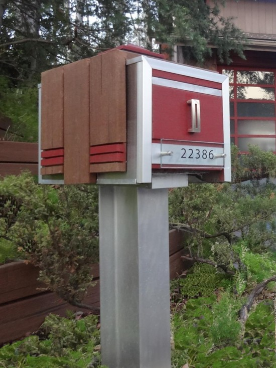 Excellent Stylish Post: Modern Mail Box Invites More Letters in Exquisite  XR94