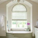 great window treatments dallas for bathroom with white transparant covering curtain