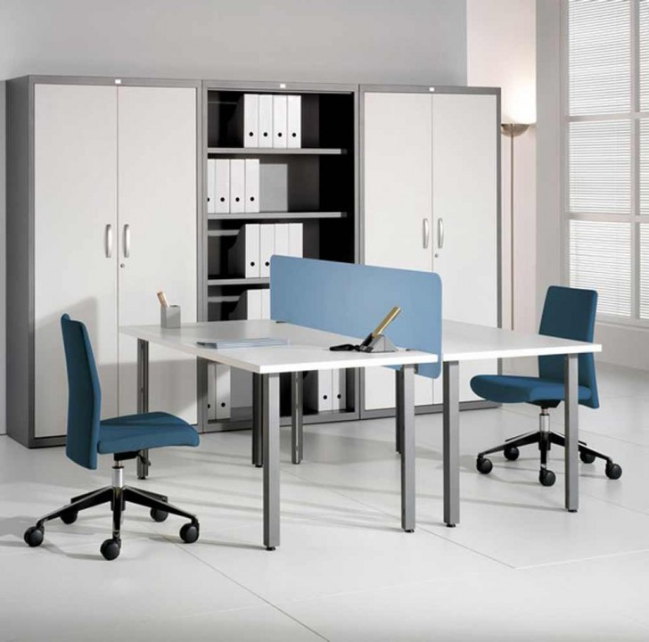 Two Sided Desk A Best Solution For Limited Office Space
