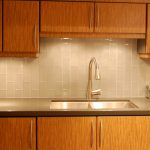 laminate countertop looks like metal counter for kitchen double square sinks and bronze faucet hardwood storage systems