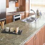 laminate surface kitchen counter that is so similar to marble surface double stainless steel sinks and faucet wine glass collection some pieces solid cheese